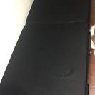 値下げ!折りたたみベッド(リクライニング付き)