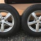 デリカD:5 スタッドレスタイヤ+ホイール4本セット