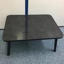 グレー×黒の折りたたみミニテーブル売ります