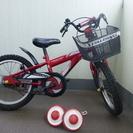 子供用自転車16インチ補助輪付き(引取りに来て下さる方)