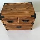 木製 アンティーク風 ミニチェスト