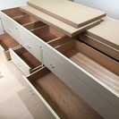 引き出し付き木製ベッド(2016 11/26 お取引完了)