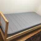【美品】IKEA組み立て式ベッド