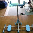 下半身を鍛える器具です。 美脚効果、下半身の引き締め筋力アップに効...