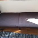 シングルベッド 1人暮らし用 折りたたみ可