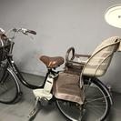 YAMAHAヤマハPAS電動自転車24インチ子どもイス付き