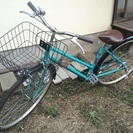 27インチ 中古自転車 グリーン