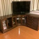 カリモク リビングボード(TV台とCD/DVD棚)