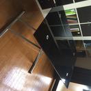 【中古品】昇降式ダイニングテーブル(アクティブF BK)