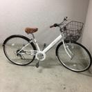 Shimano 6段変則付き27インチ 自転車