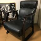 【再値下げしました】レバー式リクライニング座椅子