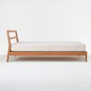 【お取引中】無印良品 タモ材 シングル ベッド