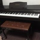 電車ピアノ カシオAP-20、88鍵盤、3ペダル