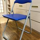 パイプ椅子 二脚