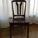 木製 椅子 4脚セット 11/27までに取りに来れる方限定!