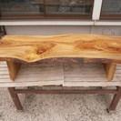 ★ 銘木一枚板 無垢材玉杢 楠の木 座卓 天板 ローテーブル ★