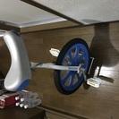 未使用の一輪車 スタンド付き 埃かぶってますし空気入れてないです