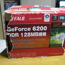 BUFFALO GeForce6200 PCI Bus専用グラフィ...