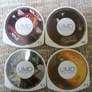 UMDディスク アニメ映画ソフト3本&将棋ゲームソフト売ります。