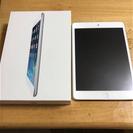 iPad mini wi-fiモデル シルバー