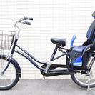 【交渉中】【取りに来れる方】チャイルドシート付自転車 15,000...