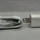 未使用品iphoneライトニングケーブルと充電器のセット Appl...