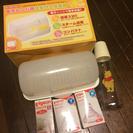 5点セット☆ 哺乳瓶 乳首 消毒器