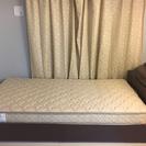 ニトリの収納付き、シングルベッド