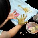子供の「今」を残そう♪手形Tシャツ 杉並区子育て応援券使用可能