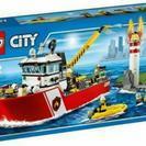 レゴ (LEGO) シティ 消防ボート