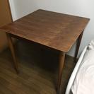 ウォールナット テーブル 80×80