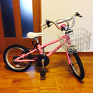 【値下げ!美品】LOUIS GARNEAU ルイガノ16インチ自転車