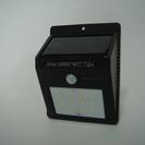 LED ソーラーセンサーライト 人感センサー  取付け簡単