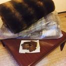 コタツ一式と185×185和風絨毯セット