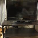 本日限定!REAL26型ブルーレイ再生、HDD録画可能!液晶テレビ!