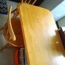 ※成立 ダイニングテーブル&椅子2脚