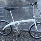 ダホン 折畳み 20インチ 6段ギヤ カギ新品 中古自転車 054