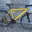 あさひ クロスバイク 700c 3×8段ギヤ カギ新品 中古自転車...