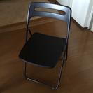 パイプ椅子2脚セット