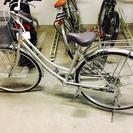 【美品】27インチギア付き自転車