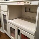 キッチンカウンター スライド式棚付き 11月中には処分予定です。