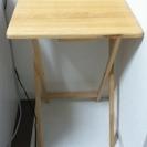 折り畳みテーブル プリンター台 幅48cm奥37cm高65cm