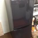 シャープ 冷蔵庫 SJ-14P-B SHARP