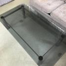 ガラスのローテーブル 応接テーブル センターテーブル