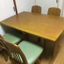 ダイニングテーブル4人掛け【0円】
