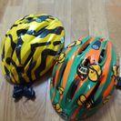 子供用ヘルメット2個セット