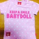 BABYDOLL80サイズ半袖☆