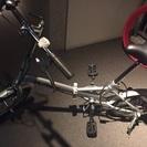 ほぼ新品!16インチ折りたたみ自転車