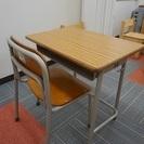 子供用:学習机&椅子セット(11/24, 25, 26, 28 引...