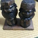 アイヌの木彫り人形 100円